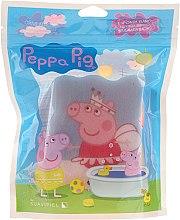 "Profumi e cosmetici Spugna da bagno per bambini ""Peppa Pig"", Peppa ballerina - Suavipiel Peppa Pig Bath Sponge"