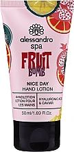"Profumi e cosmetici Lozione mani ""Fruit Bomb"" - Alessandro International Spa Fruit Bomb Hand Lotion"