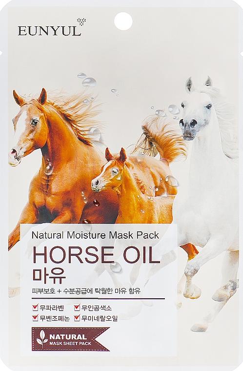 Maschera all'olio di criniera di cavalli - Eunyul Horse Oil Mask Pack