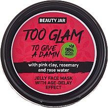 Profumi e cosmetici Maschera gelatina lifting - Beauty Jar Too Glam To Give A Damn Face Mask