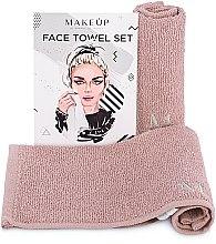 """Profumi e cosmetici Set asciugamani da viaggio, beige """"MakeTravel"""" - Makeup Face Towel Set"""