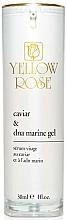 Profumi e cosmetici Siero con estratto di caviale e DNA marino - Yellow Rose Caviar & Marine DNA Gel