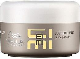 Profumi e cosmetici Pomata brillantina per capelli - Wella Professionals EIMI Just Brilliant Shine Pomade