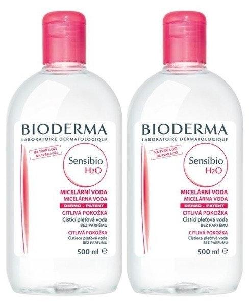 Set - Bioderma Sensibio H2O (micel/lot/2x500ml)