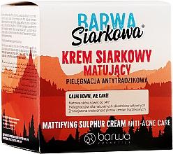 Profumi e cosmetici Crema anti-acne allo zolfo - Barwa Anti-Acne Cream Sulfuric