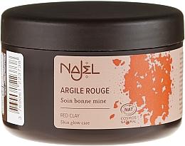 """Profumi e cosmetici Argilla cosmetica """"Rossa"""" - Najel Red Clay For Healthy Glow"""