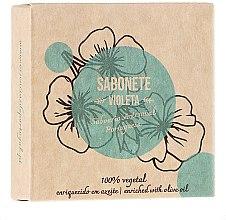 """Profumi e cosmetici Sapone naturale """"Viola"""" - Essencias De Portugal Senses Violet Soap With Olive Oil"""