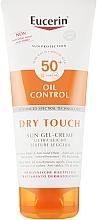 Profumi e cosmetici Crema-gel solare opacizzante ultraleggera - Eucerin Oil Control Dry Touch Sun Gel-Cream SPF50+