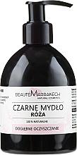 Profumi e cosmetici Sapone liquido nero con olio di rose - Beaute Marrakech Rose Black Liquid Soap