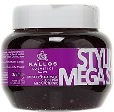 Profumi e cosmetici Gel per lo styling fissazione di megasil - Kallos Cosmetics Styling Gel Mega Strong