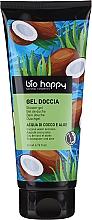 """Profumi e cosmetici Gel doccia """"Acqua di cocco e aloe"""" - Bio Happy Shower Gel Coconut Water And Aloe"""