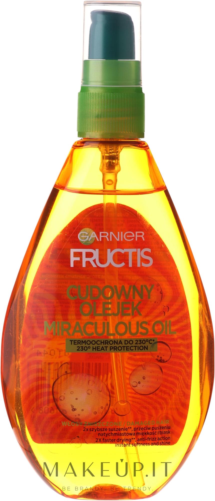 Garnier Fructis - Olio per capelli | Makeup.it