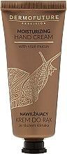 Profumi e cosmetici Crema mani idratante - Dermofuture Moisturizing Hand Cream