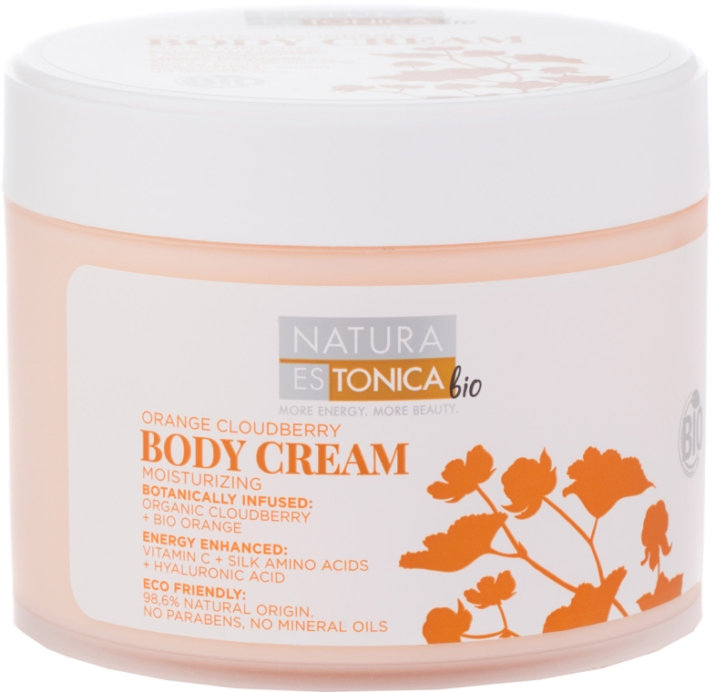 Crema corpo all'arancia - Natura Estonica Orange Cloudberry Body Cream