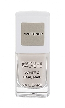 Profumi e cosmetici Primer per unghie - Gabriella Salvete Nail Care White & Hard