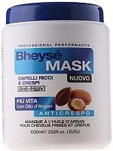 Profumi e cosmetici Maschera con olio di argan per capelli ricci - Renee Blanche Bheyse Maschera Capelli Ricci e Crespi