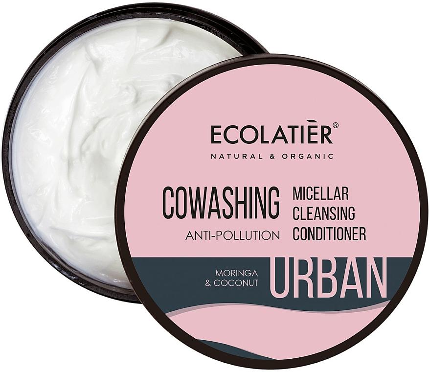 """Condizionante micellare per capelli """"Moringa e cocco"""" - Ecolatier Urban Micellar Cleansing Conditioner — foto N1"""