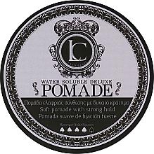 Profumi e cosmetici Cera per capelli a tenuta forte da uomo - Lavish Care Water Soluble Deluxe Pomade Soft Pomade With Strong Hold