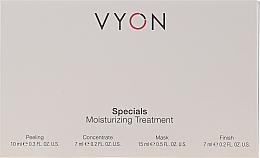 Profumi e cosmetici Set - Vyon Specials Moisturizing Treatment (f/peeling/10ml + f/conc/7ml + f/mask/15ml + f/cr/7ml)