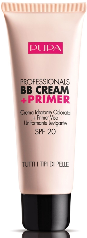 Crema idratante BB + primer - Pupa Professionals BB Cream+Primer — foto N1