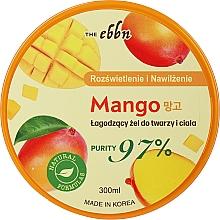 Profumi e cosmetici Gel viso e corpo al mango illuminante e idratante - The Ebbn Illuminating And Moisture Mango Soothing Gel