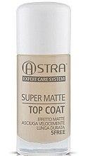 Profumi e cosmetici Top Coat matte - Astra Make-up Super Matte Top Coat