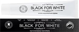 Profumi e cosmetici Dentifricio al carbone attivo - Biomika Black For White Teeth Paste