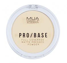 Profumi e cosmetici Cipria compatta opacizzante - MUA Pro-Base Full Coverage Matte Pressed Powder