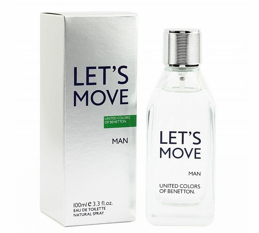 Benetton Let's Move - Eau de toilette
