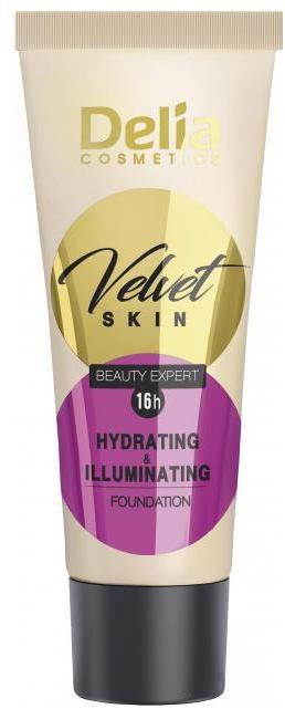 Fondotinta idratante - Delia Mineral Velvet Skin