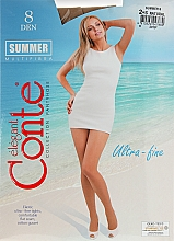 """Profumi e cosmetici Collant da donna """"Summer"""" 8 Den, natural - Conte"""