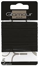 Profumi e cosmetici Elastici per capelli, 414933, neri - Glamour