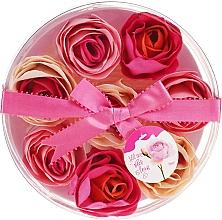 """Profumi e cosmetici Confetti da bagno """"Rosa"""", 8 pz. - Spa Moments Bath Confetti Rose"""
