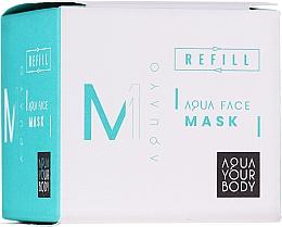 Profumi e cosmetici Maschera viso idratante - AQUAYO Aqua Face Mask (ricarica)