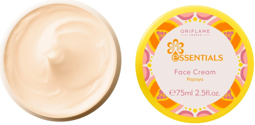 "Crema alla vitamina per viso ""Papaya"" - Oriflame Essentials Face Cream"