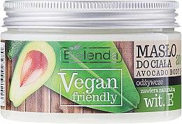 """Profumi e cosmetici Burro corpo """"Avocado"""" - Bielenda Vegan Friendly Avocado Body Butter"""