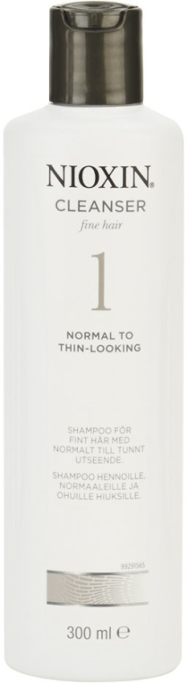 Shampoo detergente - Nioxin Thinning Hair System 1 Cleanser Shampoo