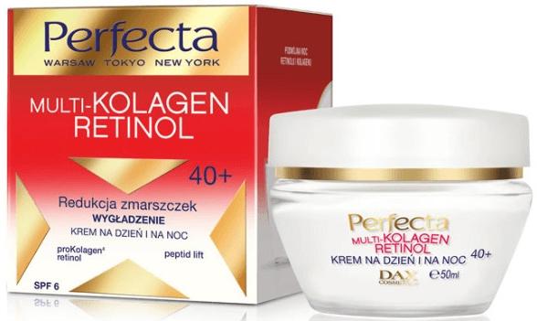 Crema viso - Dax Cosmetics Perfecta Multi-Collagen Retinol Face Cream 40+