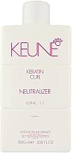 Profumi e cosmetici Neutralizzante capelli idratante e rinforzante - Keune Keratin Curl Neutralizer 1:1