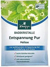 Profumi e cosmetici Sale da bagno con melissa - Kneipp Melissa Bath Crystals Salt