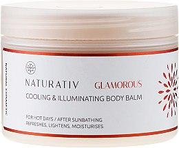 Profumi e cosmetici Balsamo corpo - Naturativ Cooling & Illuminating Body Balm