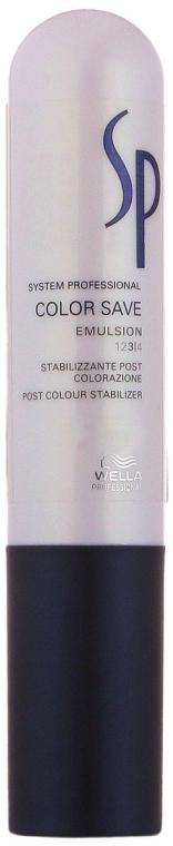 Emulsione neutralizzante per capelli colorati - Wella SP Color Save Emulsion — foto N1