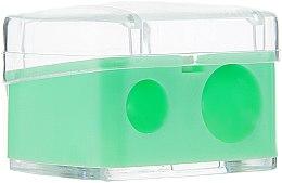 Profumi e cosmetici Temperamatite bicolore con tappo, verde chiaro - Top Choice