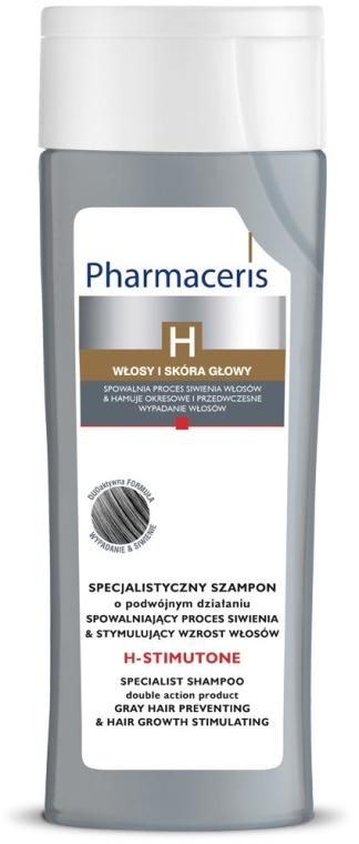 Shampoo - Pharmaceris H-Stimutone Specialist Shampoo Gray Hair Preventing & Hair Growth Stimulating