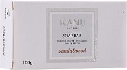 "Profumi e cosmetici Saponetta ""Legno di sandalo"" per mani e corpo - Kanu Nature Soap Bar Sandalwood"