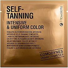 Profumi e cosmetici Salviette di abbronzatura intensiva - Comodynes Self-Tanning Intensive & Uniform Color