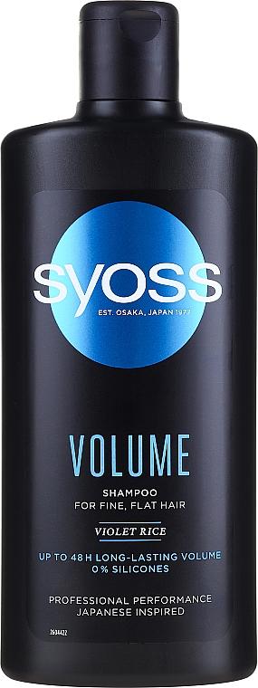 Shampoo volumizzante - Syoss Volume Violet Rice Shampoo