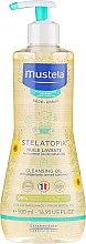 Profumi e cosmetici Olio detergente - Mustela Sunflower Cleansing Oil