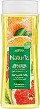 "Profumi e cosmetici Gel doccia ""Pompelmo e arancia"" - Joanna Naturia Grapefruit and Orange Shower Gel"