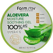 Profumi e cosmetici Gel multifunzionale con estratto di aloe vera - FarmStay Aloevera Moisture Soothing Gel